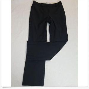 ann taylor black curvy fit trousers 6
